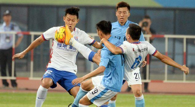 足协杯:高迪破门失点 申花1-0权健晋级
