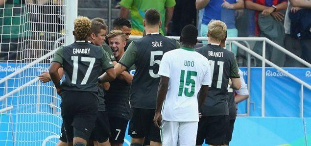 彼得森破门 德国2-0尼日利亚晋级决赛
