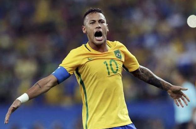 内马尔建功 巴西6-5点球胜德国夺金牌