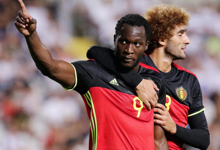 卢卡库双响阿扎尔助攻 比利时3-0塞浦路斯