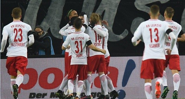科拉希纳茨乌龙 RB莱比锡2-1力克沙尔克