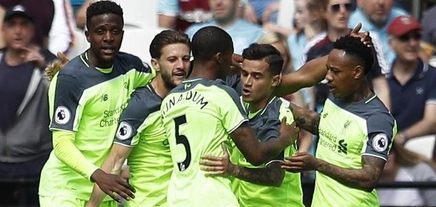 库蒂尼奥双响 利物浦4-0大胜西汉姆联