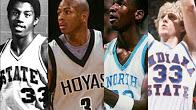 科比乔丹领衔!十大传奇巨星进NBA前恐怖表现