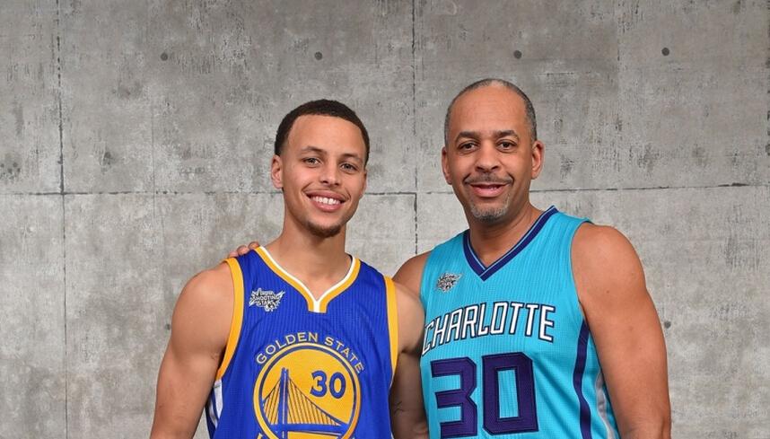 NBA十大父子兵:库里神射家族里弗斯子承父业