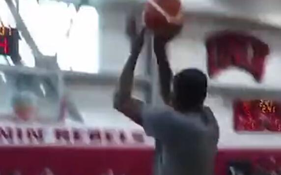 简直投篮机!杜兰特训练中投百发百中