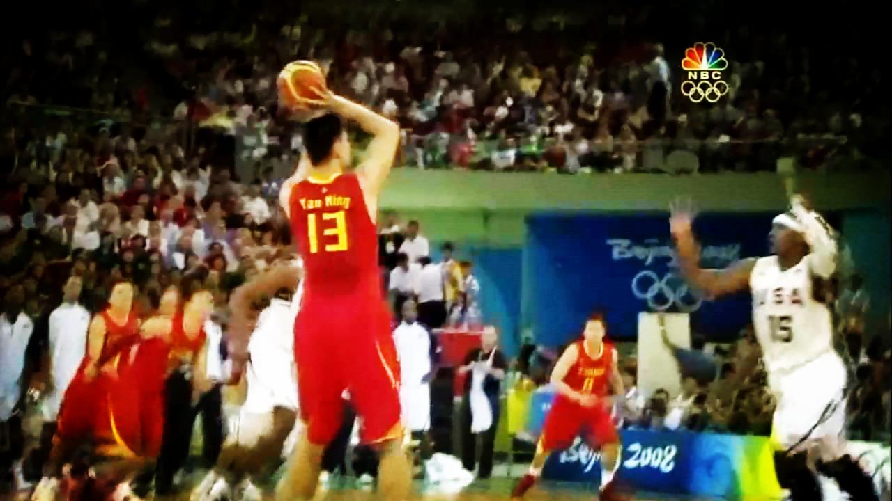 北京奥运开场3分震惊全场!姚明生涯5大3分