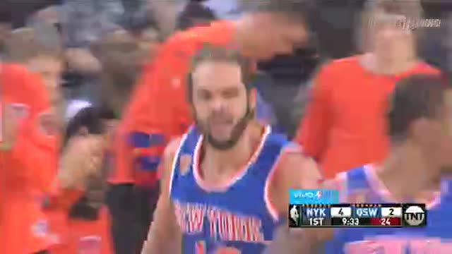 12月16日NBA常规赛 尼克斯vs勇士 第一节 录像