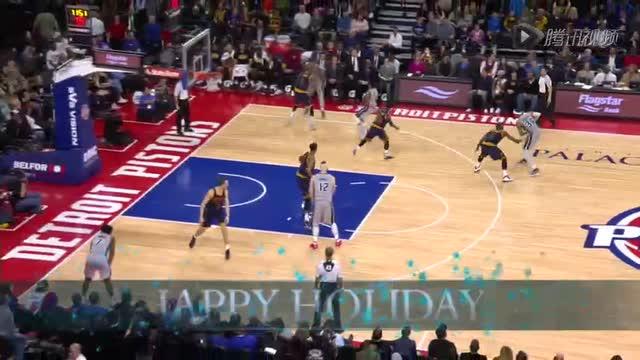 12月27日NBA常规赛 骑士vs活塞 第四节 录像