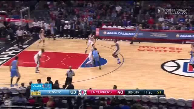 12月27日NBA常规赛 掘金vs快船 第三节 录像