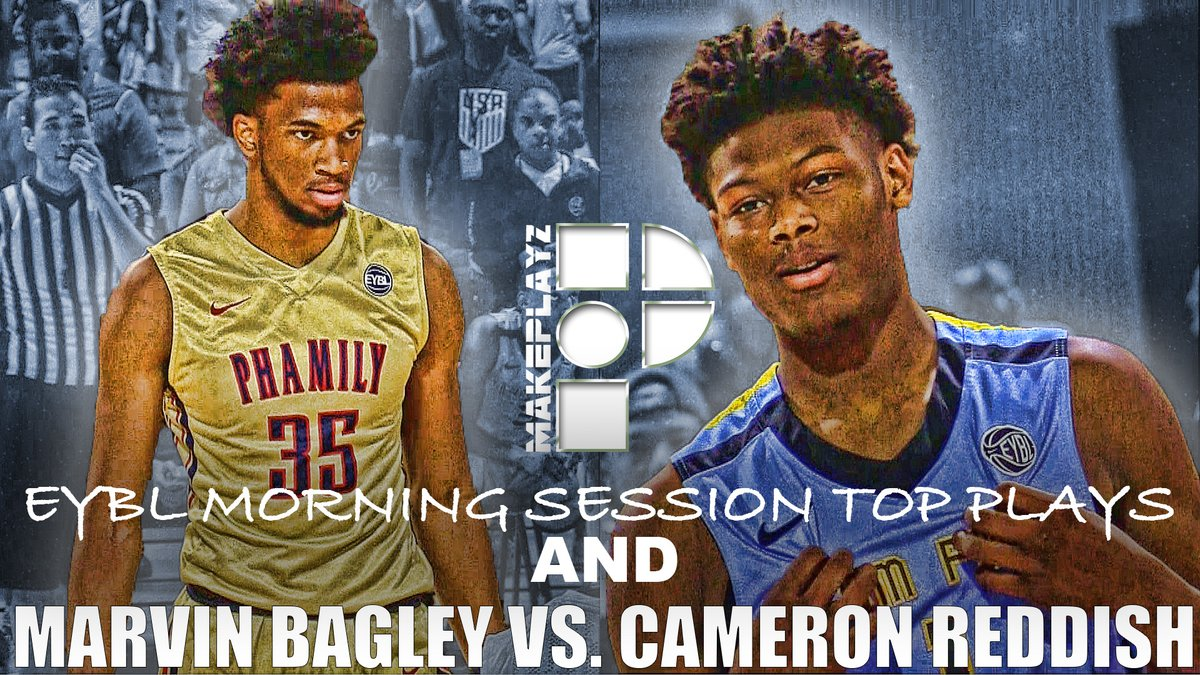 2018届天才对决!Marvin Bagley vs Cam Reddish
