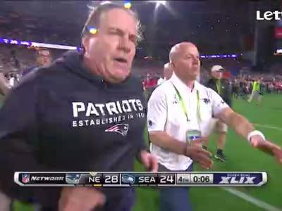 NFL-第49届超级碗终场全场沸腾 两队主帅深情拥抱