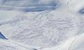 艺术感爆棚!大叔雪中暴走3万步踩出惊艳雪地画
