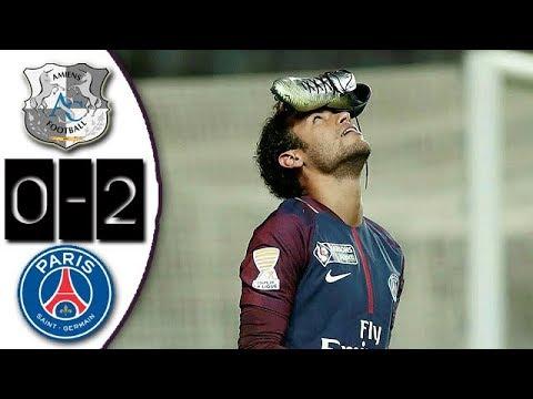[10分钟集锦]法联杯-内马尔造点加破门 巴黎客场2-0胜晋级四强