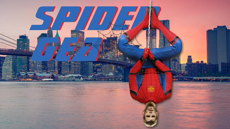 曼联大腿德赫亚从天而降 化身蜘蛛侠拯救红魔